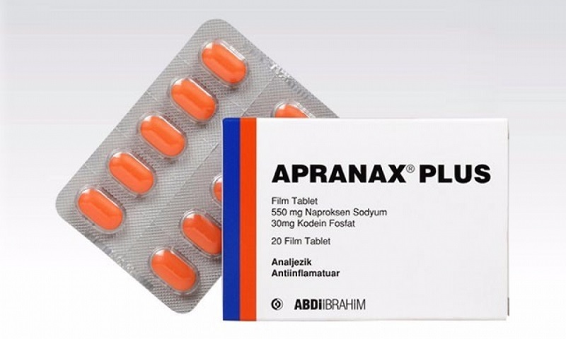 APRANAX PLUS 20 film tablet kutusunun resmi